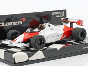 Stefan Bellof McLaren MP4/1C #8 Test Car Silverstone 1983 1:43 Minichamps