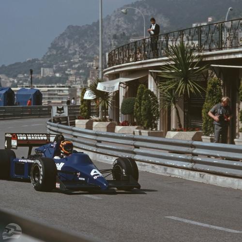 Monaco 85, Tyrrell 012 | © Ferdi Kräling Motorsport-Bild GmbH
