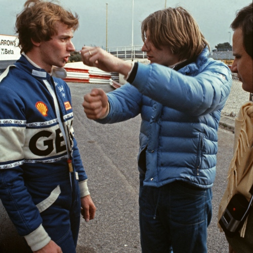Testfahrt Paul Ricard 1982, Stefan, Beppe Gabbiani, Willy Maurer | © Ferdi Kräling Motorsport-Bild GmbH
