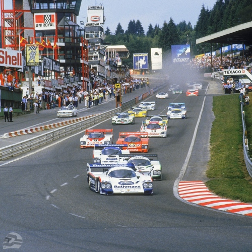 Rennen 1000 km Spa 1984 Start | © Porsche AG