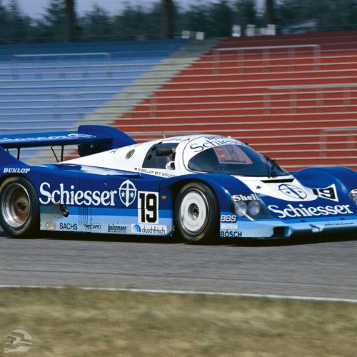 Hockenheim 1985, Fahrer: Stefan Bellof und Thierry Boutsen | © Porsche AG