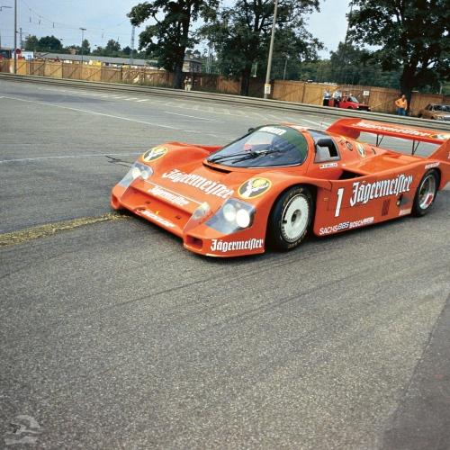 Norisring 1985, Sieger des Rennens | © Porsche AG