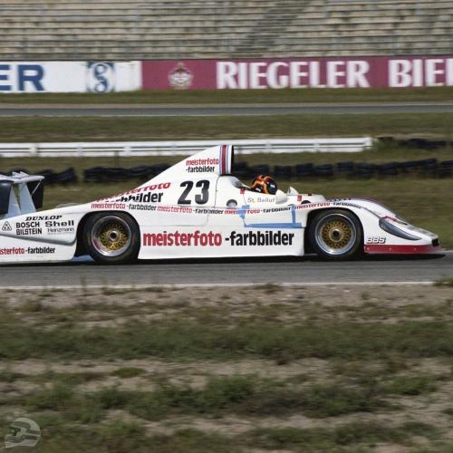 Kremer-Team bei einem DRM-Rennen in Hockenheim 1982 | © Porsche AG
